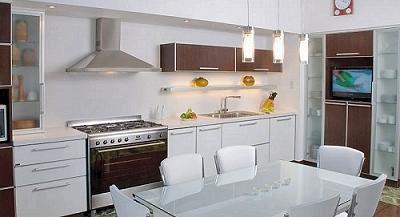 muebles de cocina modernos melamina laqueados madera