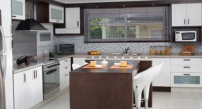 Muebles de cocina modernos melamina laqueados madera for Cocinas amoblamientos modernos