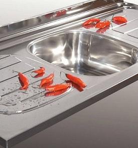Catalogo franke acero inoxidable fabrica muebles de cocina for Piletas en buenos aires